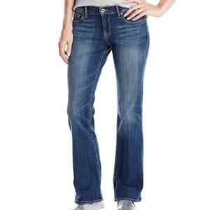 Lucky Brand Womens Ocean Road Wash Bootcut Jeans